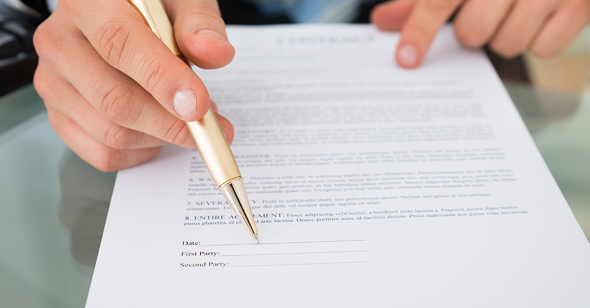 dating kontrakt eksempel