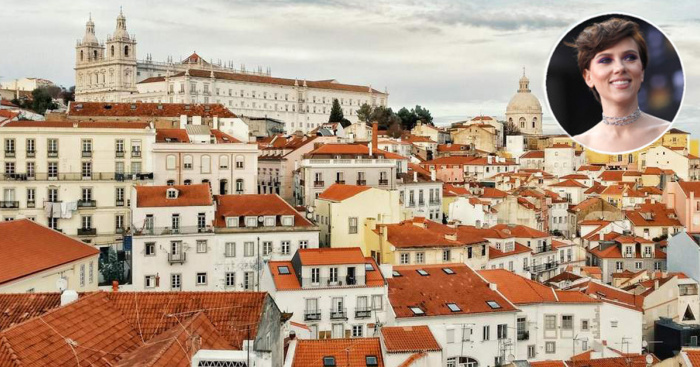 scarlett johansson joins the list of celebrities living in lisbon