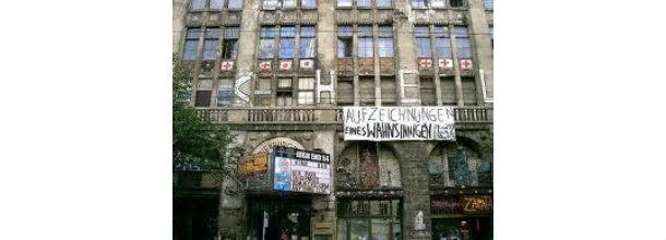 edifício tacheles, em berlim
