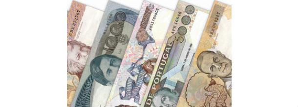 em outubro havia mais de 39,1 milhões de notas de escudo por recolher