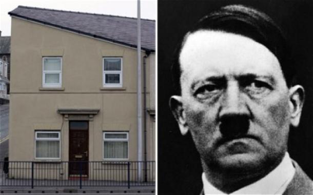 foto da casa que, segundo se cometa no twitter, é parecida com hitler