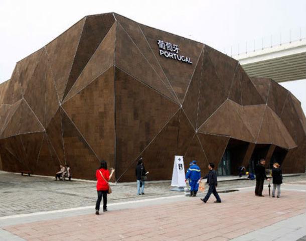 o pavilhão de portugal na expo xangai 2010 estava todo revestido a cortiça