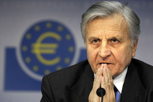 jean-claude trichet, presidente do banco central europeu