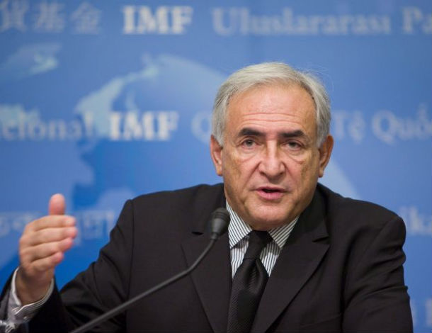 dominique strauss-kahn, director do fmi