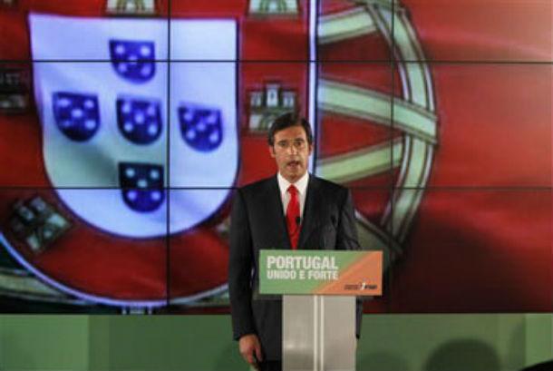 """pedro passos coelho, presidente do psd, prometeu """"trabalho absoluto"""" aos portugueses"""