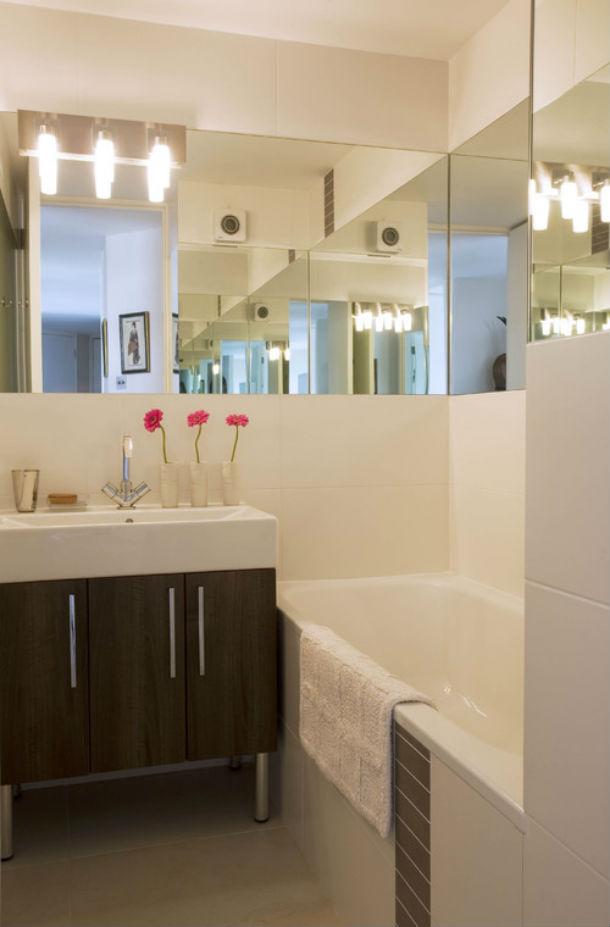 Casas de banho pequenas mas modernas fotos com ideias de for Enchape banos pequenos