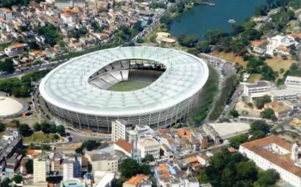 projecto oficial do novo estádio fonte nova