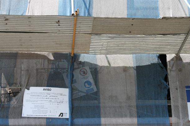 multas serão mais caras para as obras que avancem sem visto prévio