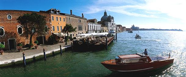 hotel cipriani, em veneza, é um dos mais luxuosos da cidade italiana