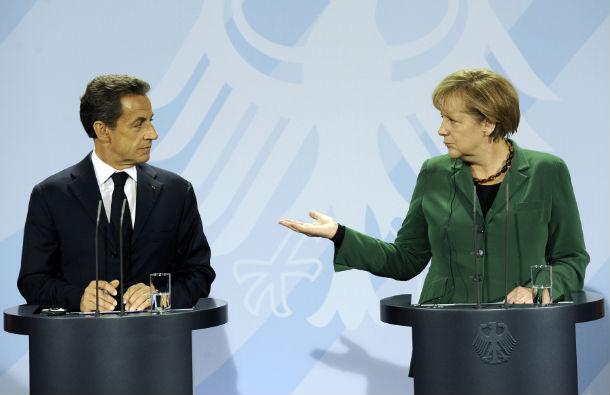 nicolas sarkozy e angela merkel querem plano para recapitalizar bancos europeus