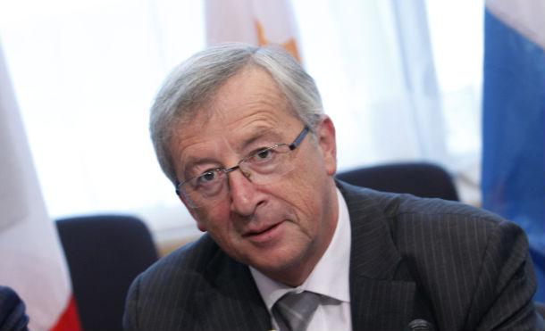 jean-claude juncker, presidente do eurogrupo