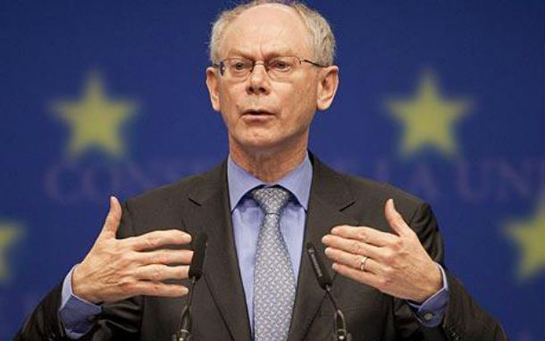 herman van rompuy, presidente do conselho europeu