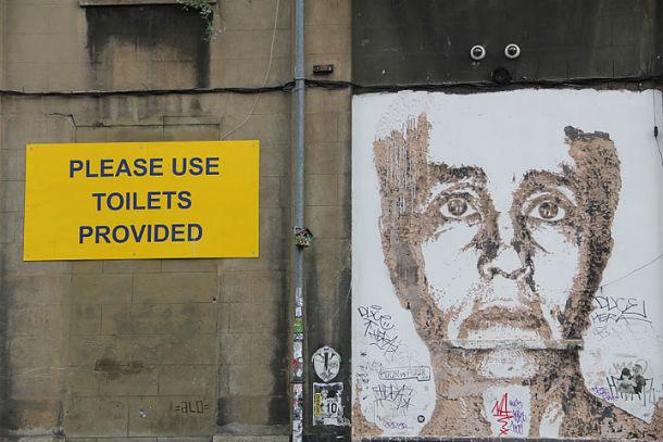 uma das fotografias que estará exposta numa fachada do bairro alto foi tirada em londres