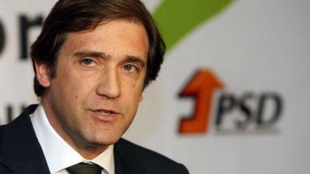 pedro passos coelho, primeiro-ministro de portugal