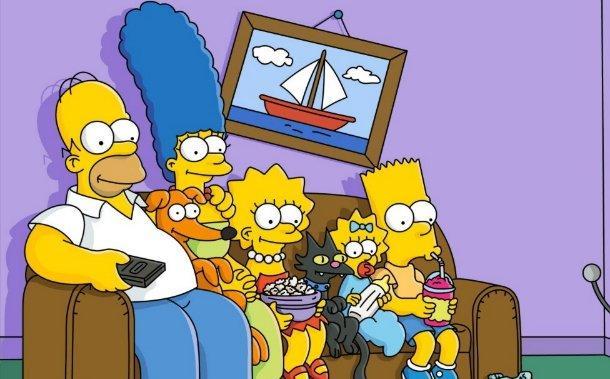 """a série """"the simpsons"""" está em exibição há 25 anos e não teve interrupções"""