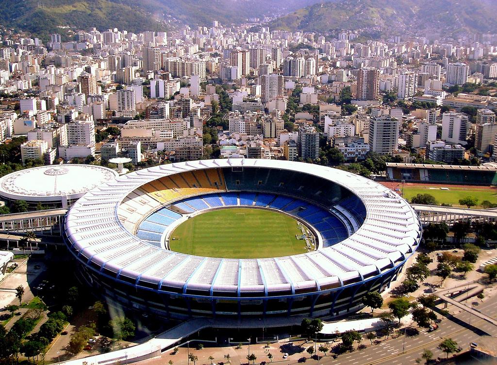 estádio maracanã, no rio de janeiro, um dos que vai receber o mundial de 2014