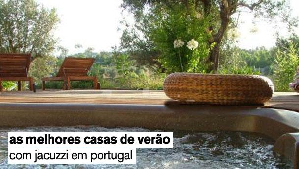 as melhores casas de verão com jacuzzi em portugal
