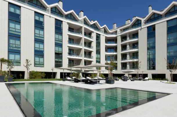 o palácio estoril residências é composto por 26 apartamentos, de tipologias de t2 a t4 duplex