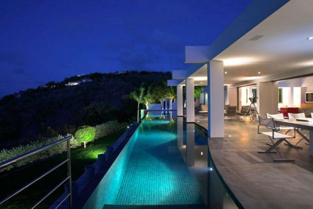 "a moderna ""villa"" nirvana zen está localizada na ilha de são bartolomeu"