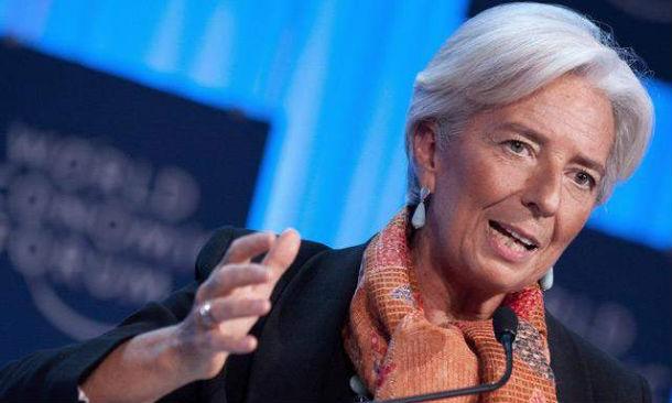 christine lagarde, diretora-geral do fundo monetário internacional (fmi)