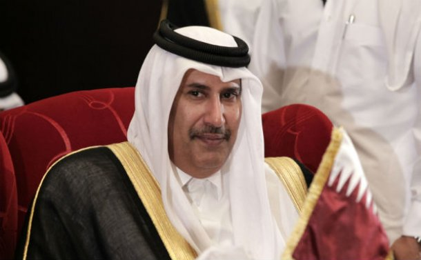primeiro-ministro do qatar, sheik hamad bin jassim bin jaber al-thani