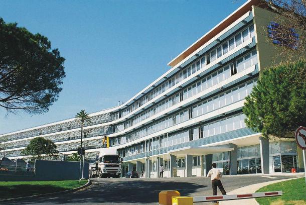 sede da rádio e televisão de portugal (rtp) em cabo ruivo, lisboa