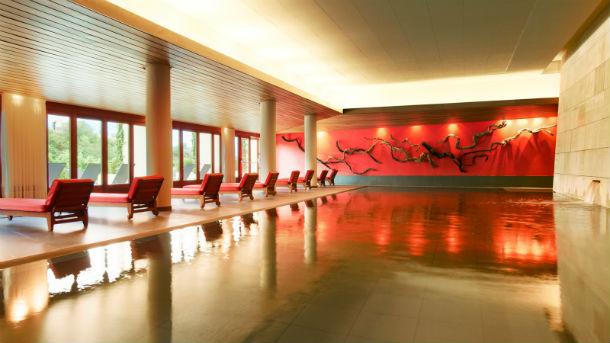 hotel está localizado em elciego, na província de álava, no país basco