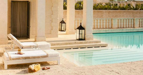 o hotel está localizado em fasano, no sul de itália