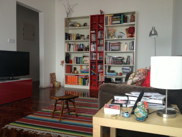 Isabel e antónio vivem nesta casa há quase três anos e pagam cerca de 700 euros de renda