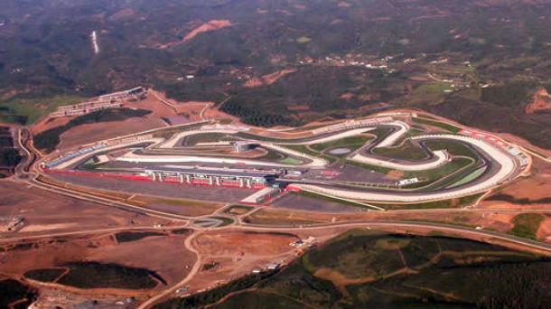 vista panorâmica do autódromo internacional do algarve, em portimão