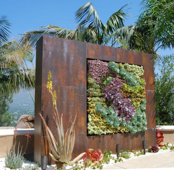 ideias jardins verticais : ideias jardins verticais: casas Jardins verticais jardinagem artigos de jardinagem Jardins