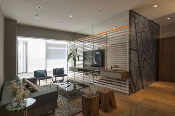 Ideias para decorar um apartamento de solteiro fotos for Decorar apartamentos modernos pequenos
