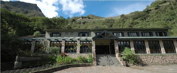 o hotel tem vistas espectaculares para as montanhas e dispõe de 29 quartos