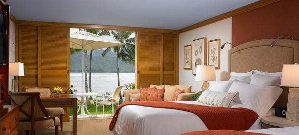 o hotel está localizado ilha kauai, a mais antiga e a quarta maior do havai