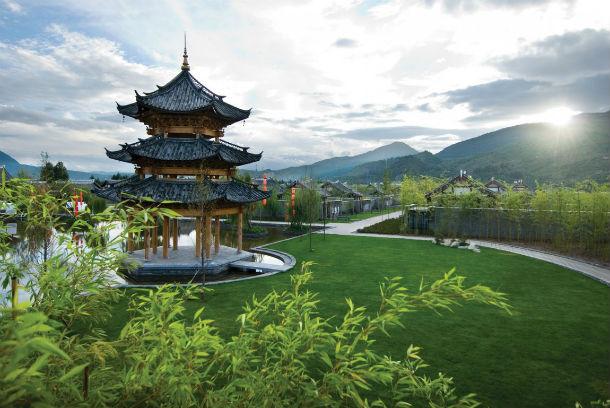 a cidade antiga de lijiang pertence à província chinesa de yunnan
