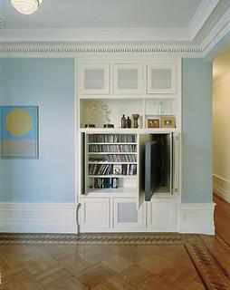 Ideias de decora o para esconder a televis o da sala for Living room channel 9