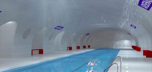 Uma das propostas passa pela construção de uma piscina olímpica subterrânea.