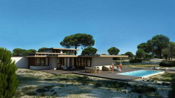 empreendimento pestana tróia eco-resort & residences localiza-se na península de tróia