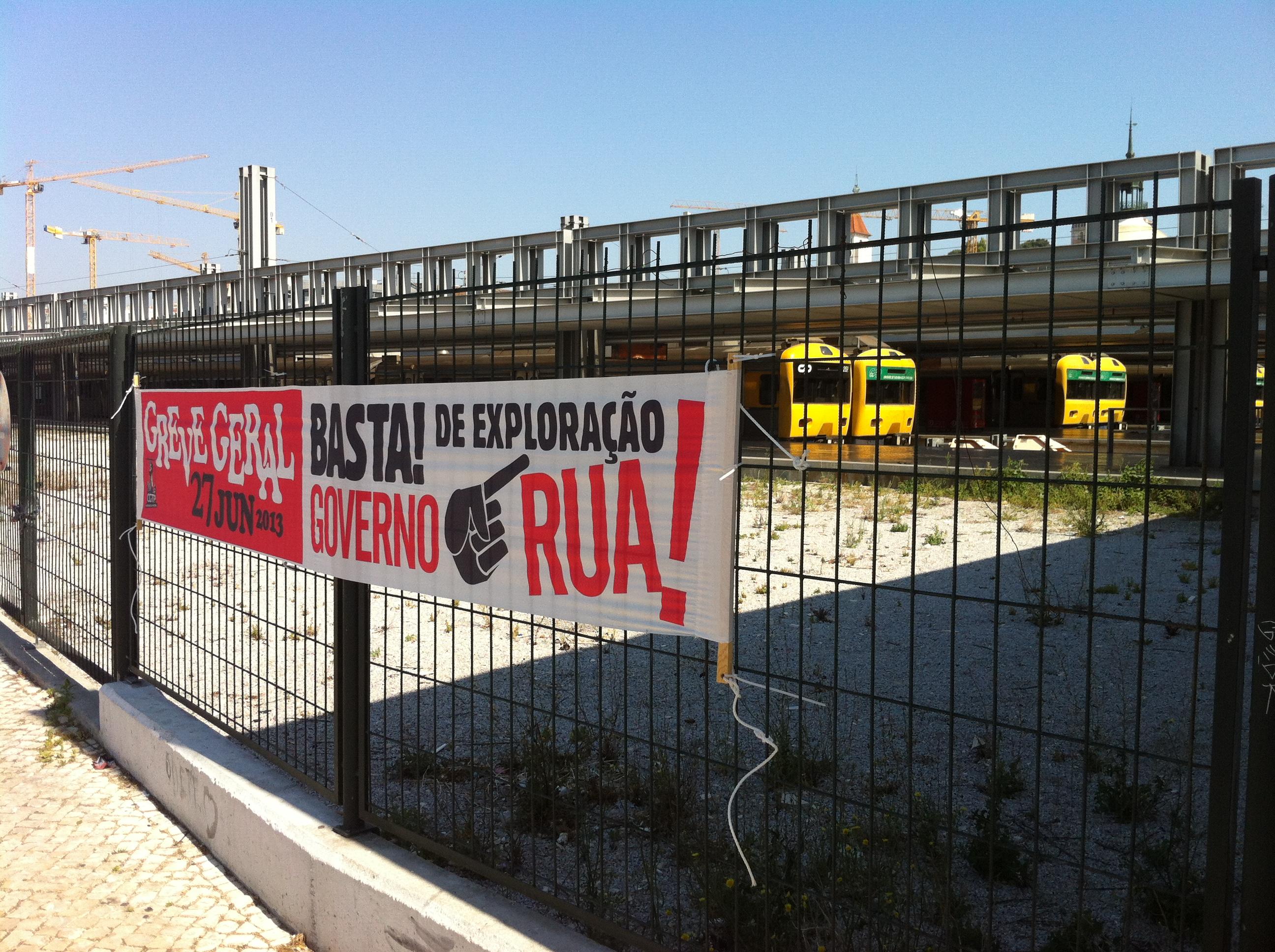 greve 27 de junho: metro fechado, comboios parados e autocarros a meio gas