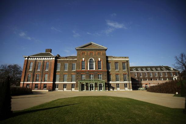 palácio de kensington necessitou de obras para receber a família real