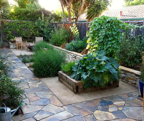 Ideias de decora o para um jardim pequeno fotos for Casa moderna 6x6