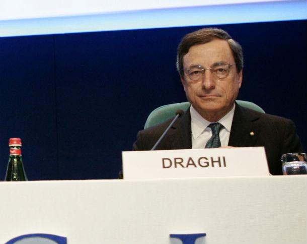 mario draghi, presidente do bce