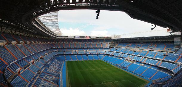 """o estádio santiago bernabéu é a """"casa"""" do real madrid"""
