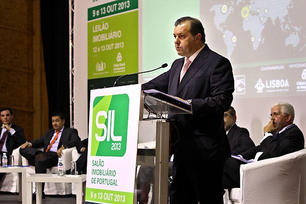 leonardo mathias, secretário de estado adjunto da economia, durante o sil 2013