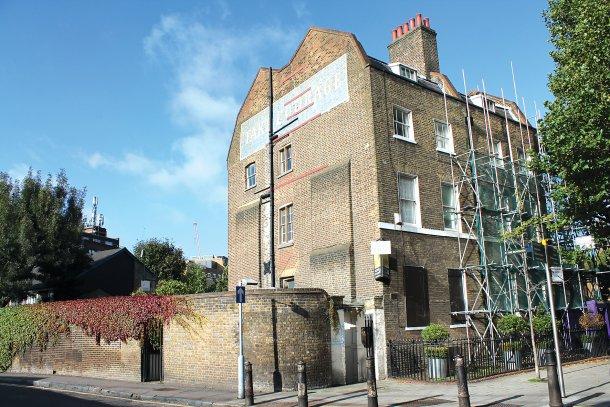 O prédio abandonado está situado perto do borough market, um dos maiores mercados de Londres