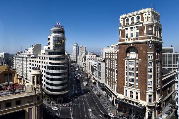 Há, atualmente, cerca de 1,8 milhões de m2 de escritórios vazios em Madrid
