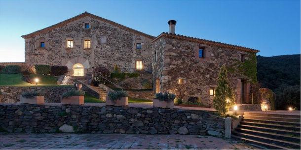 O hotel está localizado no Parque Natural de Montseny,