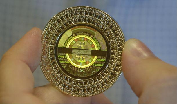 A Bitcoin tinha um valor unitário de 13,75 dólares no final de 2012.