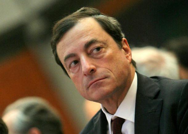 Mario Draghi, presidente do BCE