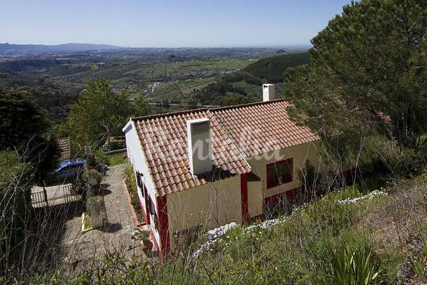 A casa tem três quartos e está localizada em Igreja Nova, Mafra, nos arredores de Lisboa.